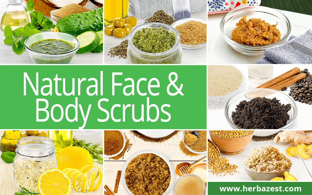 Natural Face & Body Scrubs