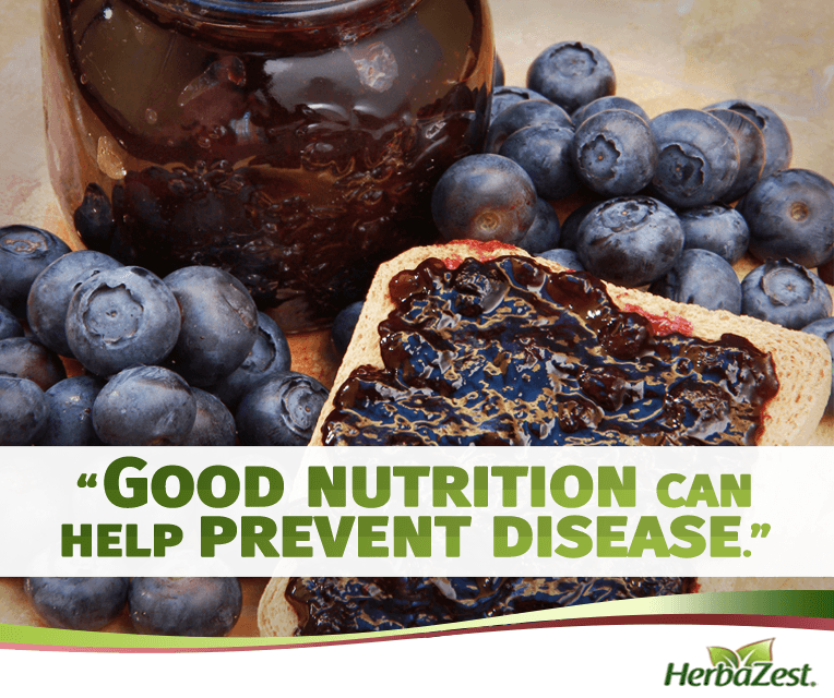 Quote: Good Nutrition Can Help Prevent Disease