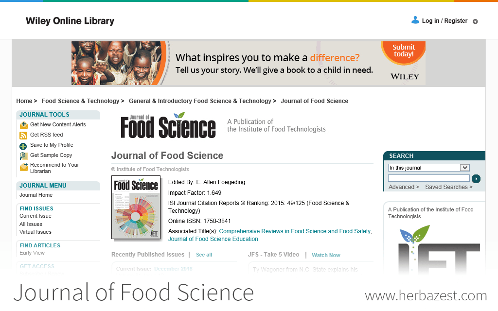 Journal of Food Science