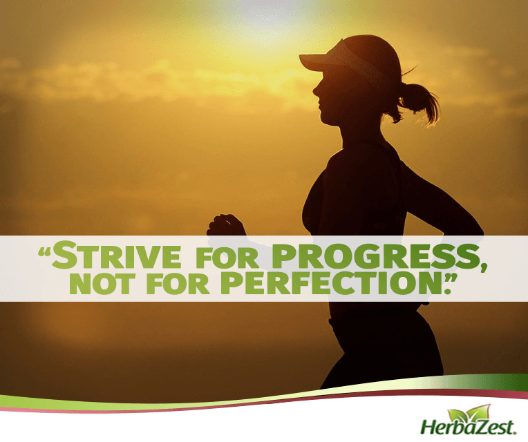 Quote: Strive For Progress, Not For Perfection