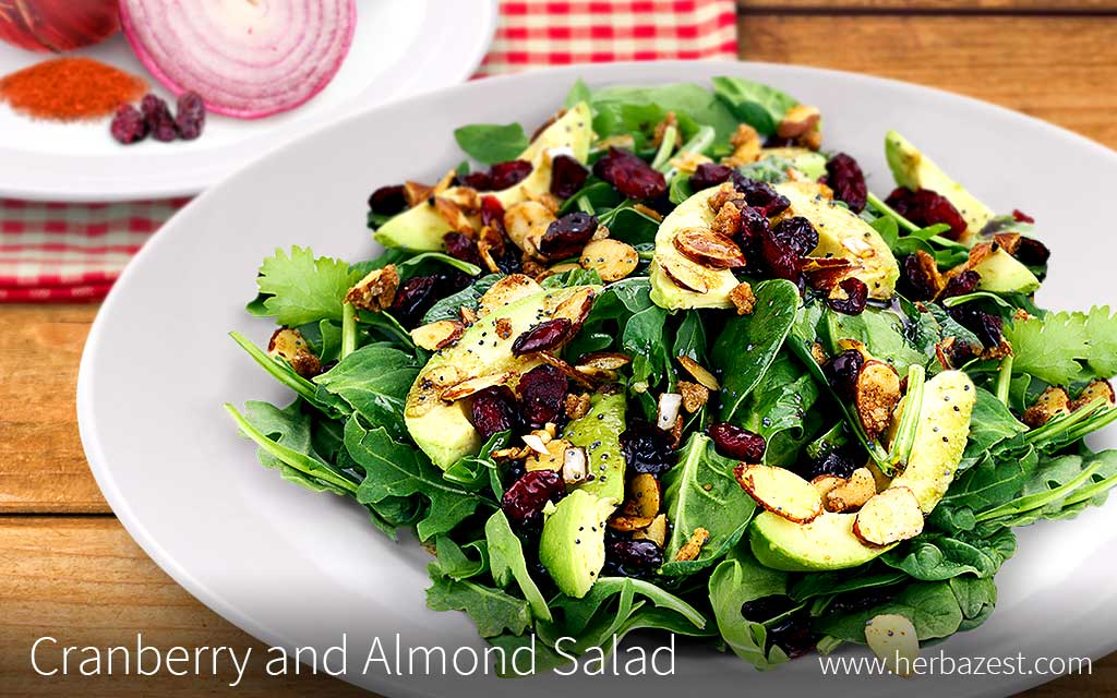 Cranberry and Almond Salad