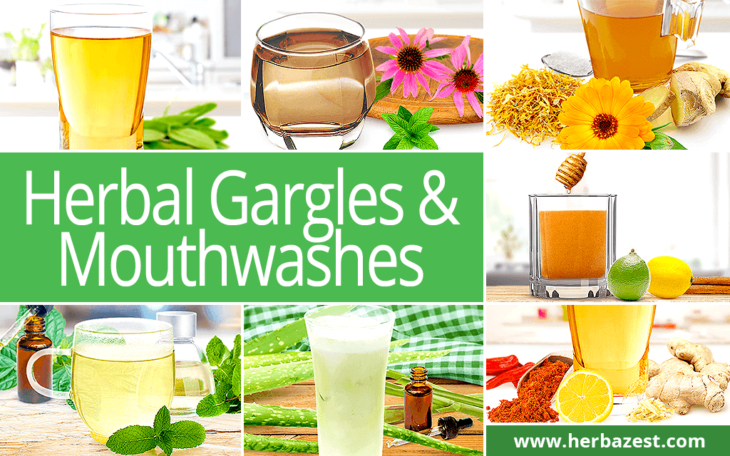 Herbal Gargles & Mouthwashes