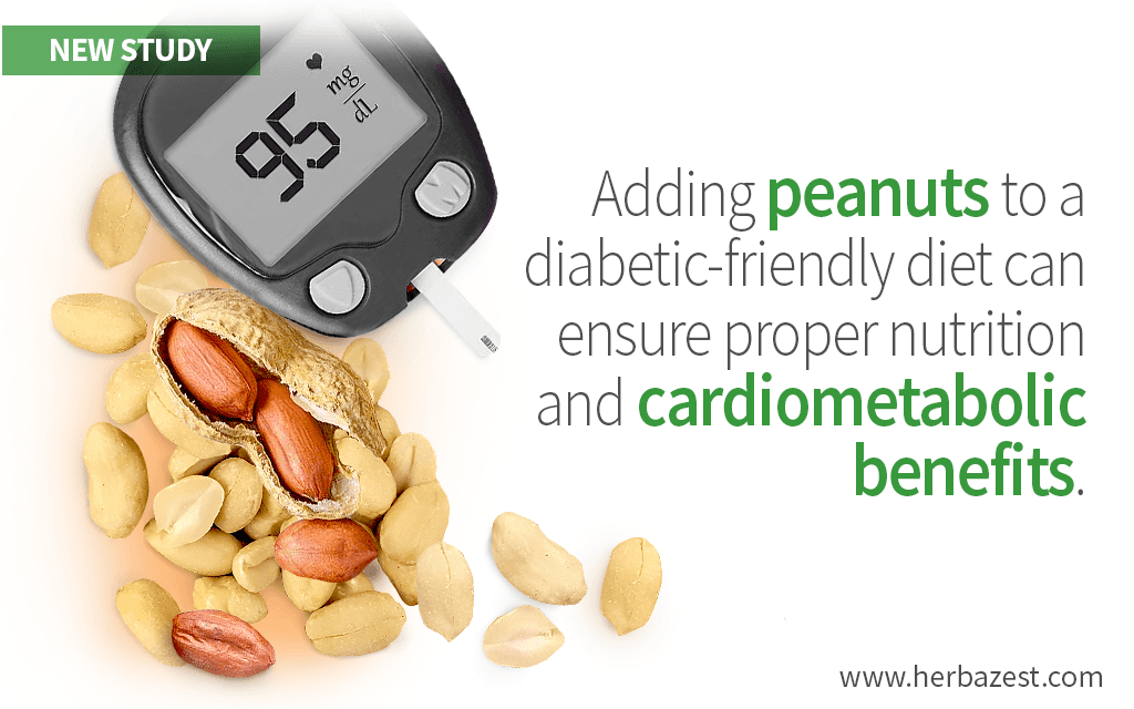 Peanuts Improve Nutrition and Cardiometabolic Parameters in Diabetics