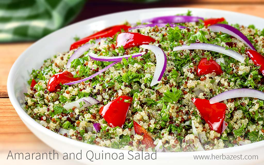 Amaranth and Quinoa Salad