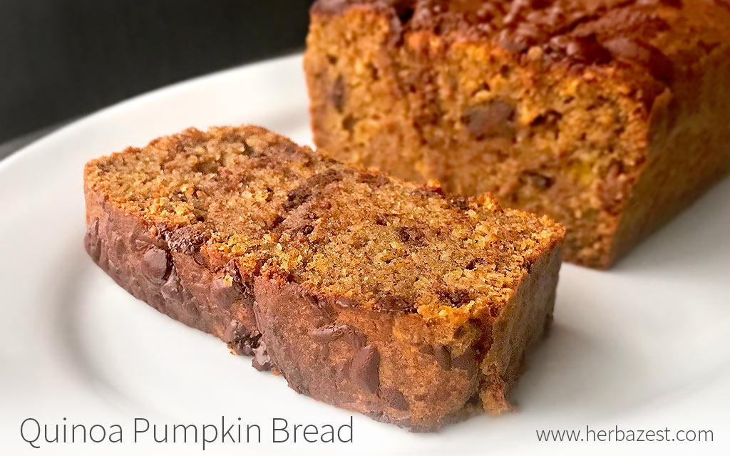 Quinoa Pumpkin Bread