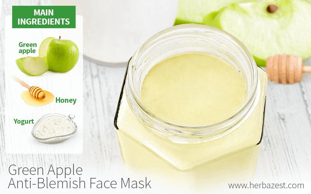 Green Apple Anti-Blemish Face Mask