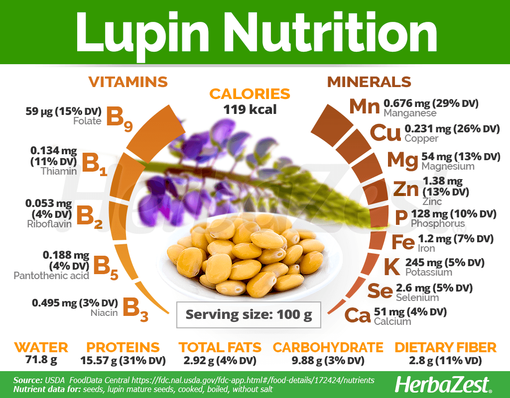 Lupin Nutrition Facts