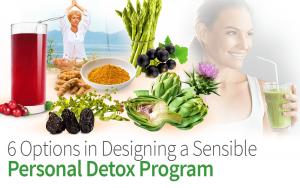 6 Options in Designing a Sensible Personal Detox Program