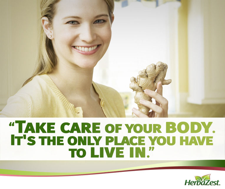 Quote: Take Care of Your Body It's Your Place to Live