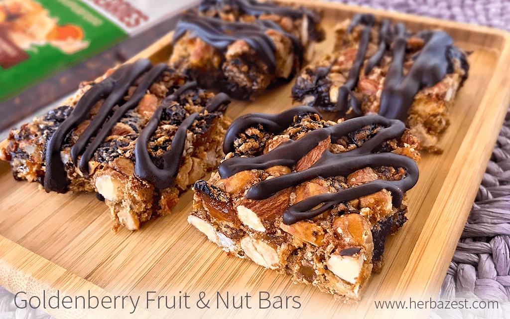 Goldenberry Fruit & Nut Bars