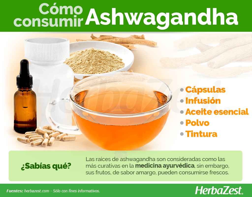 Cómo consumir ashwagandha