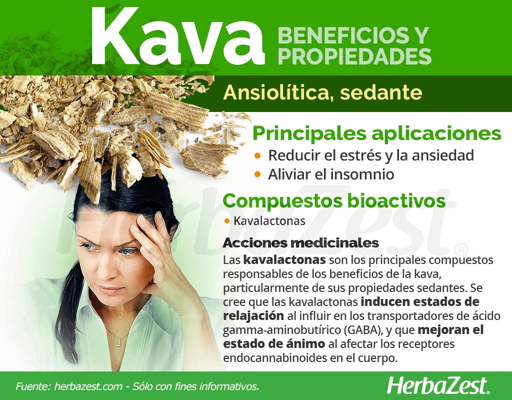 Beneficios y propiedades de la kava