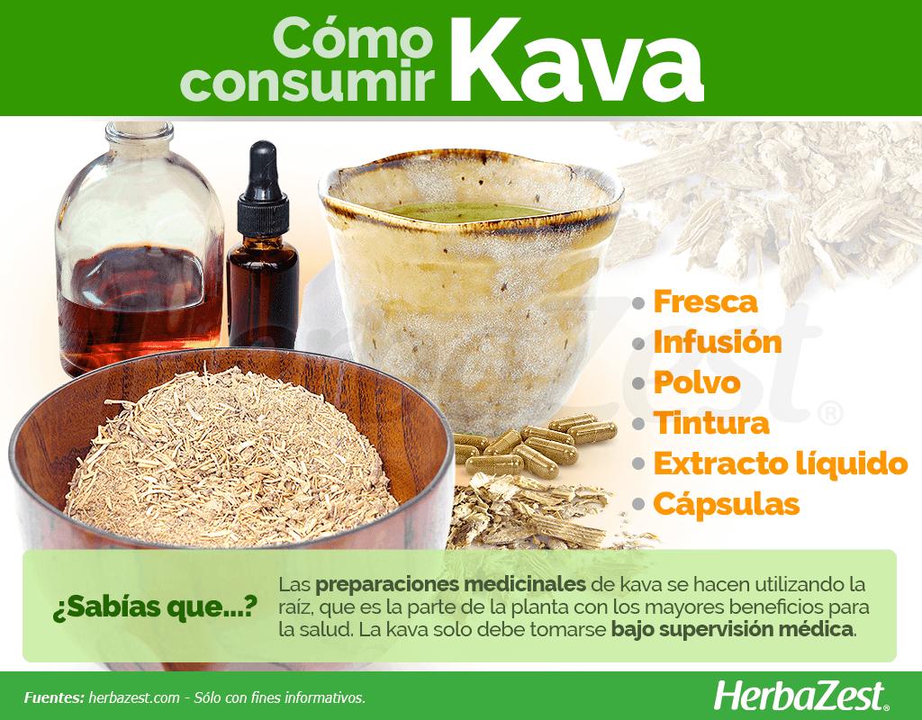 Cómo consumir kava