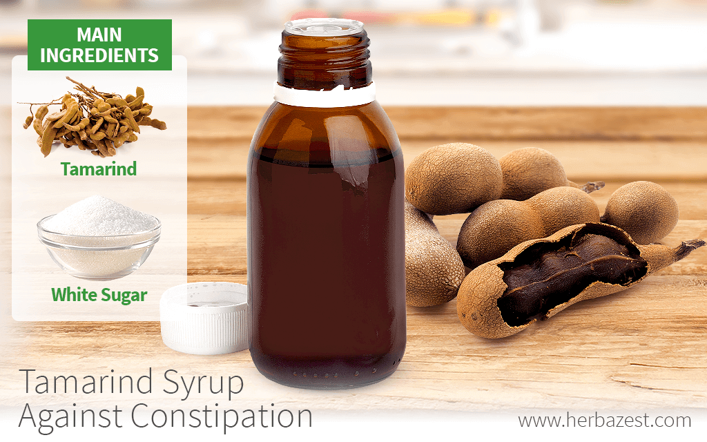 Tamarind Syrup Against Constipation