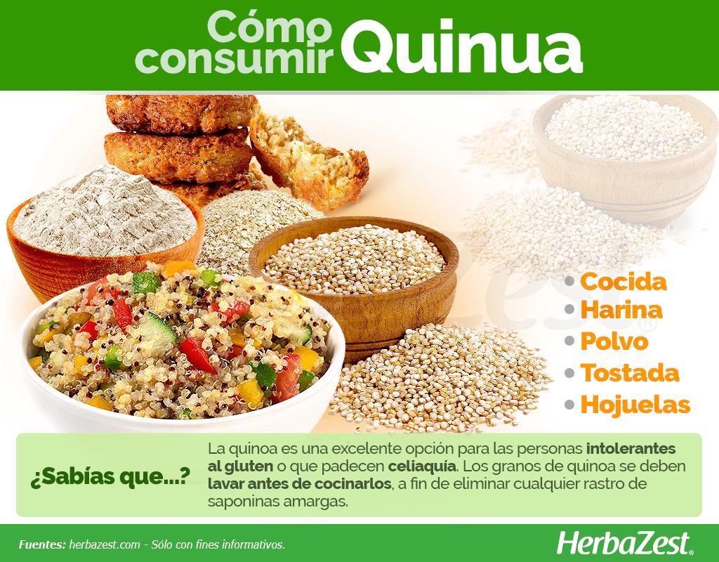 Cómo consumir quinoa