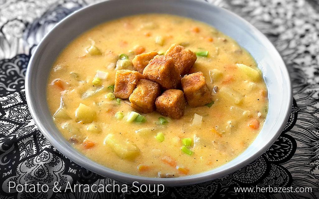 Potato & Arracacha Soup