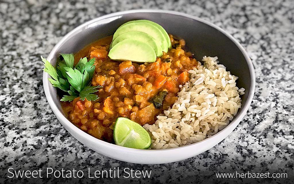 Sweet Potato Lentil Stew