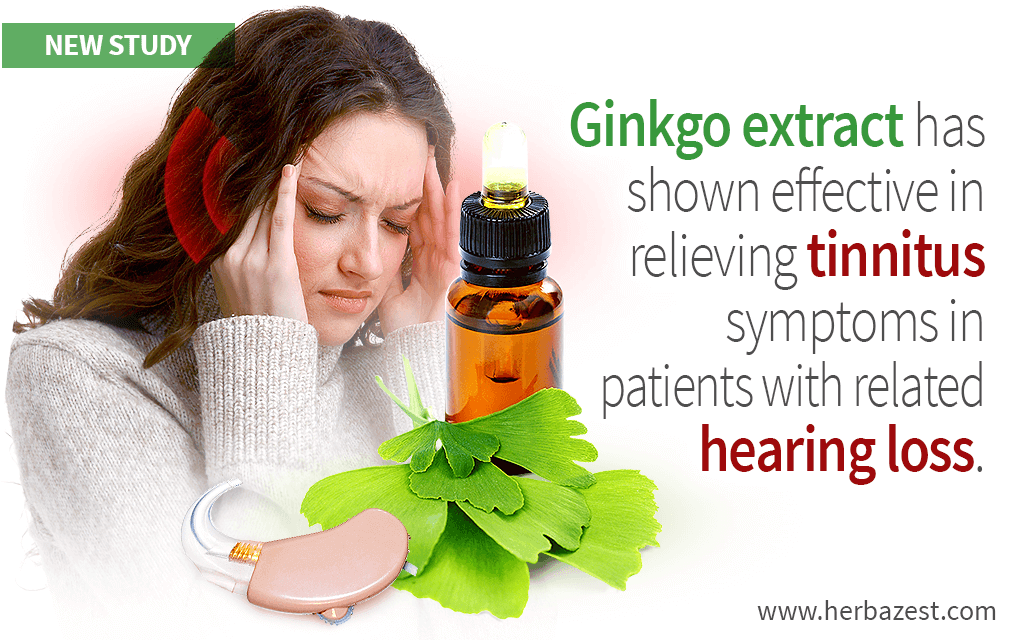 Beneficial Effects of Ginkgo on Tinnitus and Hearing Loss Revealed by a Study